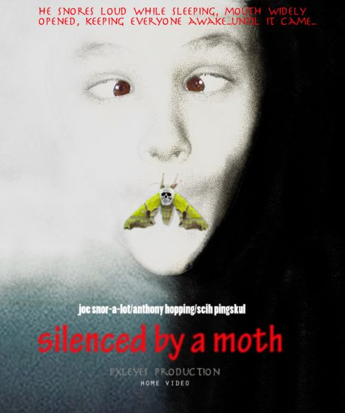 was silenced by a moth